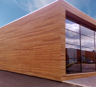 Cedertræ giver et eksklusivt look, en smuk finish og et minimum af vedligeholdelse | Södra